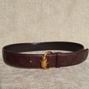Gucci GG Guccissima Leather Belt
